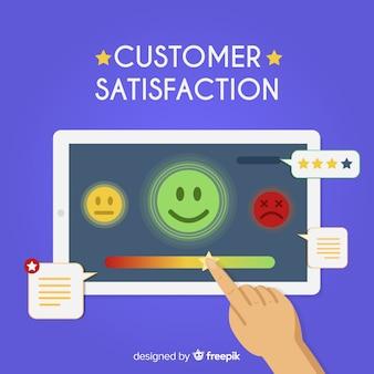 Customer satisfaction testimonial