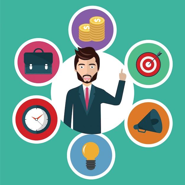 고객 서비스 및 비즈니스 개념