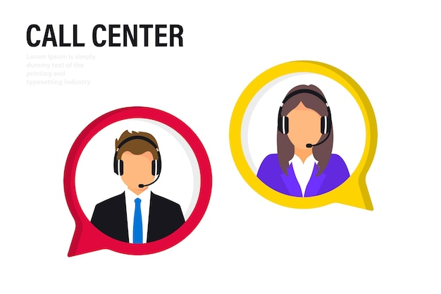 Customer service. online global technical support 24/7, customer and operator. hotline operator advises client. consultant on hotline chat. hotline operator advises client