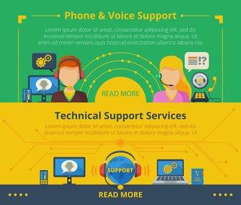 Баннер поддержки клиентов
