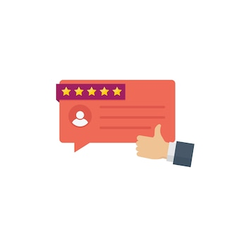 Customer testimonial messages