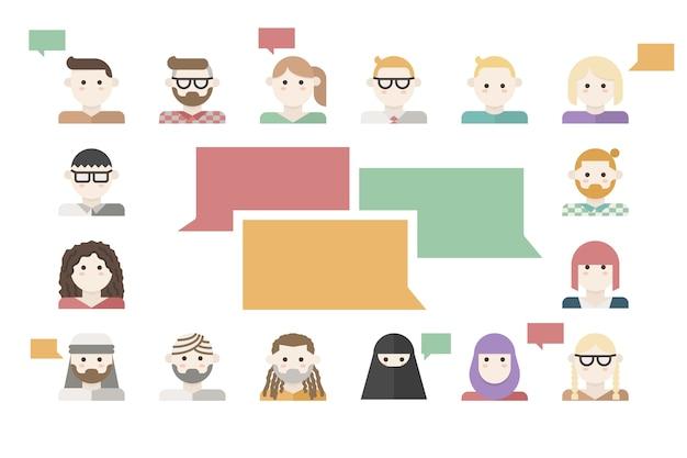 Customers feedback concept