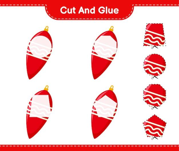 Вырежьте и склейте, вырежьте части гирлянды и приклейте их. развивающая детская игра, лист для печати