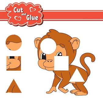 Cut and glue.