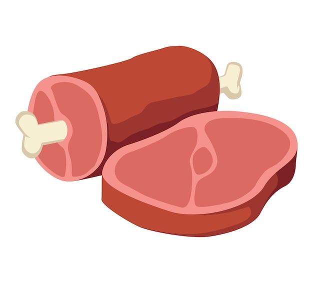 Вырез мяса