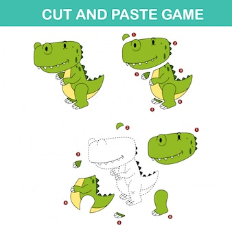 Cut and past game