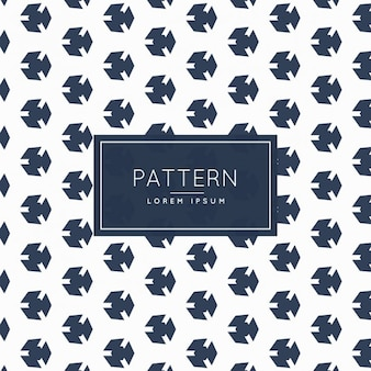 Cute abstract shape pattern