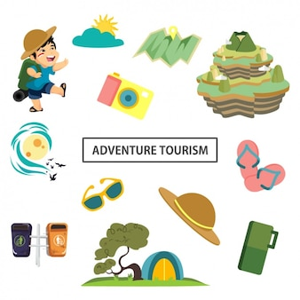 Cute adventure elements