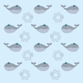 귀 엽 고 재미있는 동물 배경 패턴