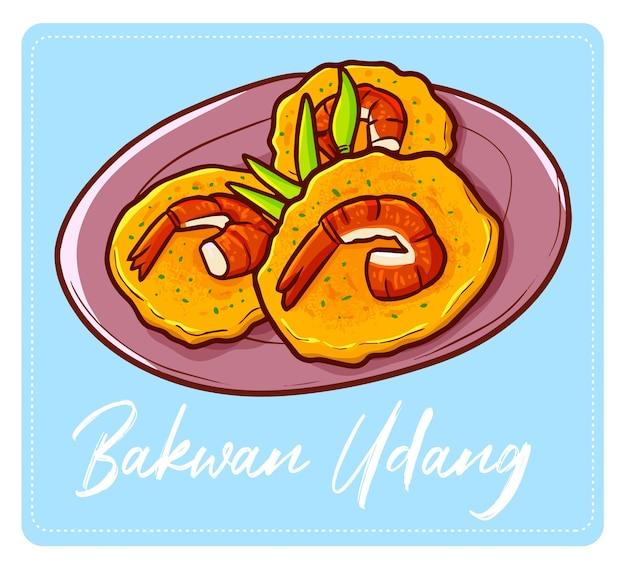 Симпатичная и вкусная индонезийская закуска