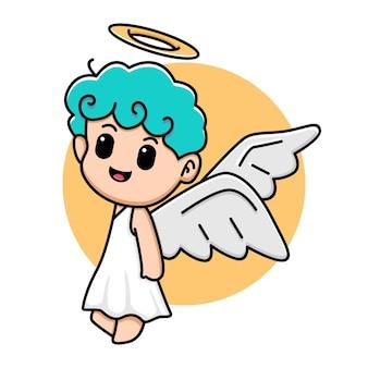 Cute angel design cartoon illustration