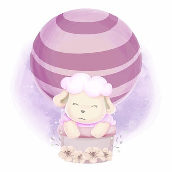 Cute animal baby for kids