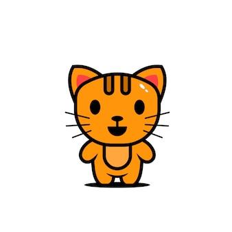 귀여운 동물 캐릭터 고양이