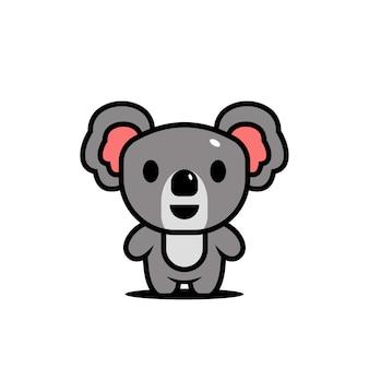 Симпатичные животные персонажи коала