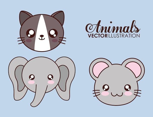 Cute animal design