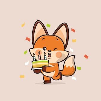 Милое животное лиса