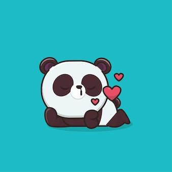 かわいい動物パンダ