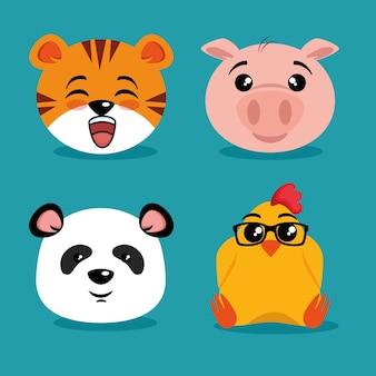 귀여운 동물 만화