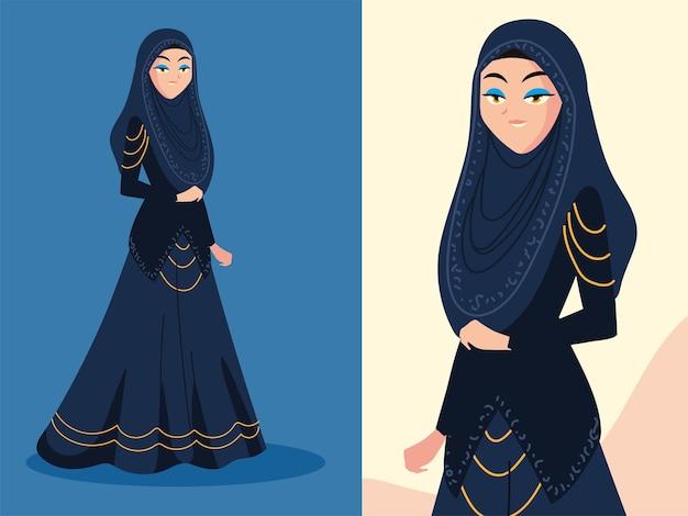 Cute arabic bride