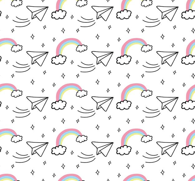 귀여운 예술과 인쇄 패턴