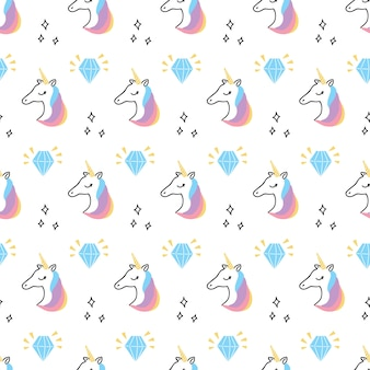 Cute art and print pattern