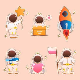 Мультфильм милый космонавт