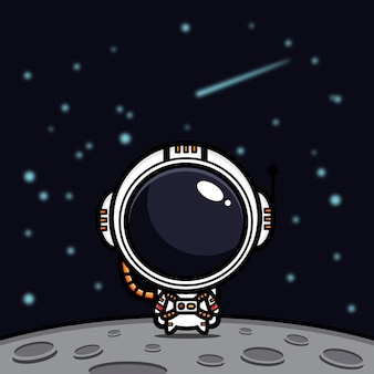 Cute astronaut design