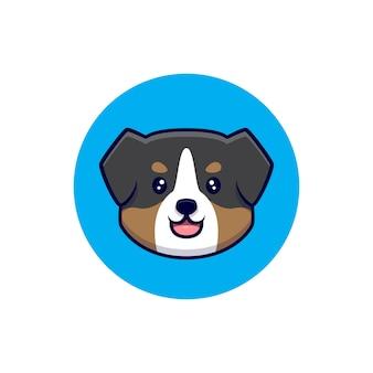かわいいオーストラリアンシェパード犬のアバター漫画