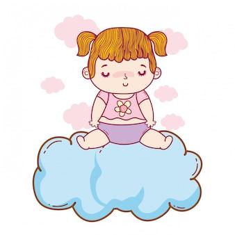 Cute baby cartoon