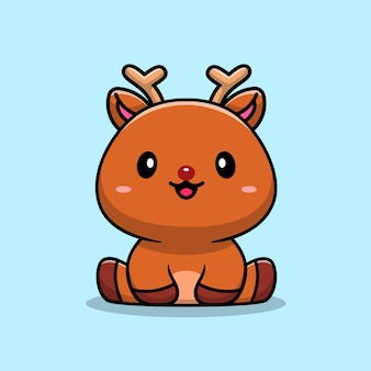 Cute baby deer, personaggio dei cartoni animati