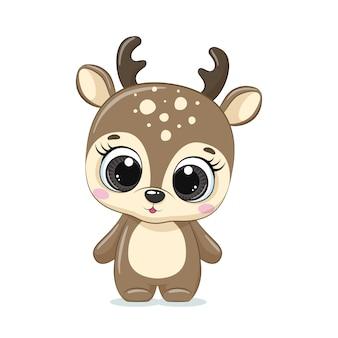 かわいい赤ちゃん鹿。