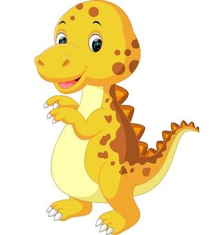 かわいい赤ちゃんの恐竜の漫画 Premiumベクター