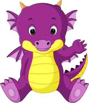 かわいい赤ちゃんドラゴン