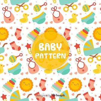 Cute baby pattern