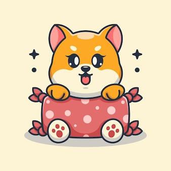 かわいい赤ちゃん柴犬犬抱き枕