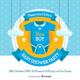 Cute baby shower concept