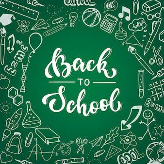 Cute 'back to school' poster, banner, print