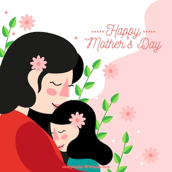 Cute background happy mother's day