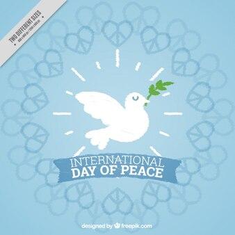 Carino sfondo giornata internazionale della pace