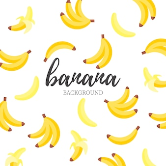 Cute banana background