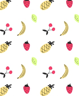 Cute banana pattern design for t shirt printing