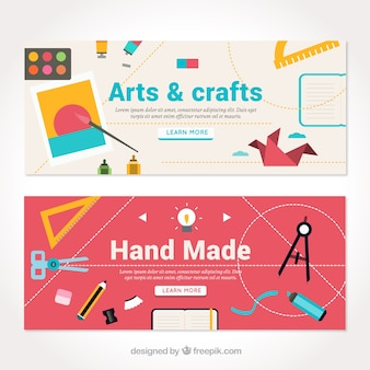 Cute banners about crafts