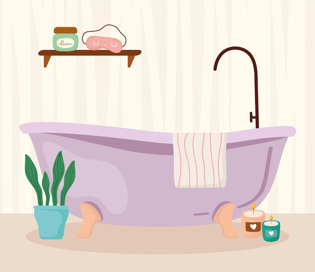 かわいいバスルームデザイン