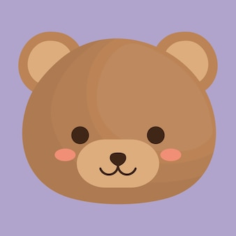 Симпатичный медведь