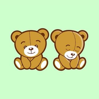 Cute bear mascot