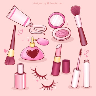 Cute beauty elements