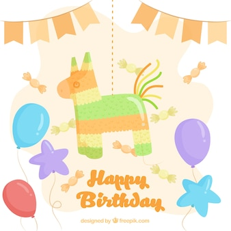 Cute birthday background