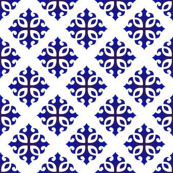 かわいい青いパターン