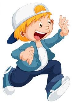 A cute boy character