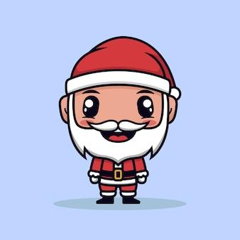 サンタ衣装漫画イラストとかわいい男の子
